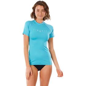 Rip Curl Golden Rays SS UV Shirt Women light blue
